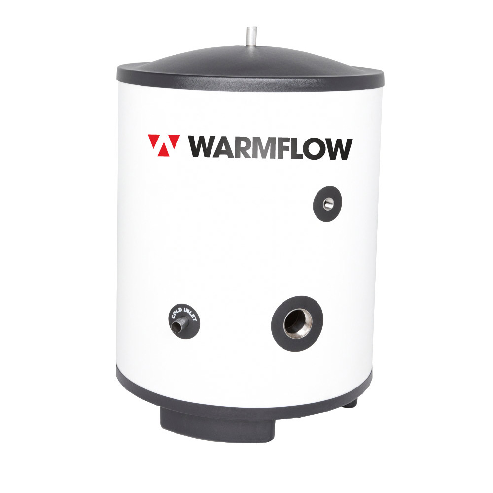 Warmflow Hot Water Cylinders, Direct Unvented hot water cylinder UK, Ireland, Northern Ireland Product