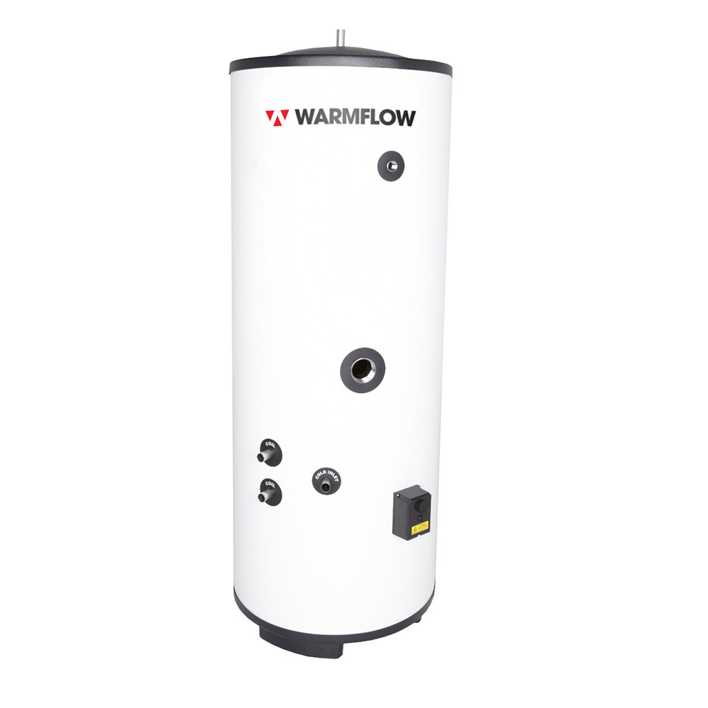 Warmflow Hot Water Cylinders, Indirect Direct Unvented hot water cylinder UK, Ireland, Northern Ireland Product
