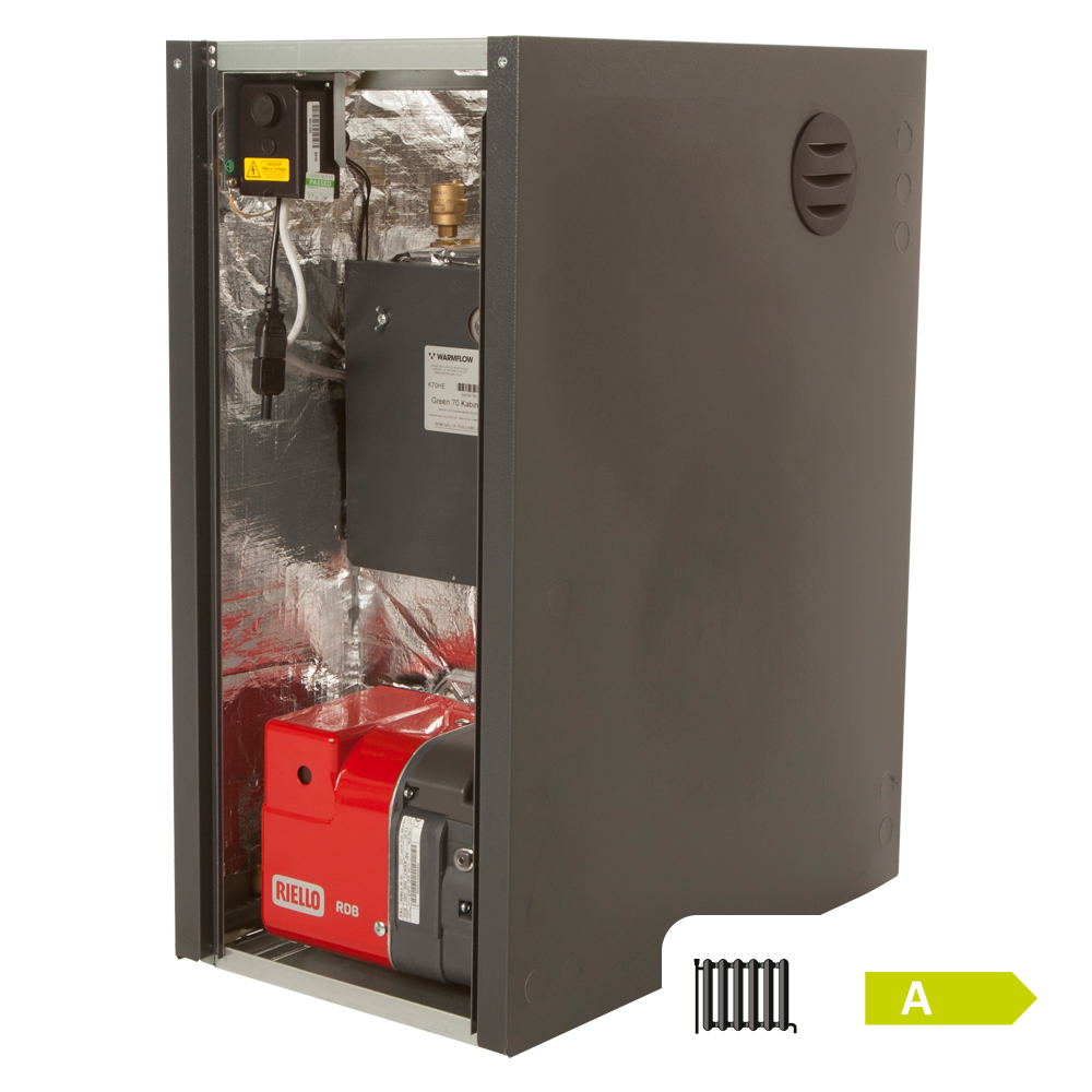 Warmflow Oil Boilers, UK, Ireland, Northern Ireland Kabin-Pak HE Pre-wired Oil Boiler Featured