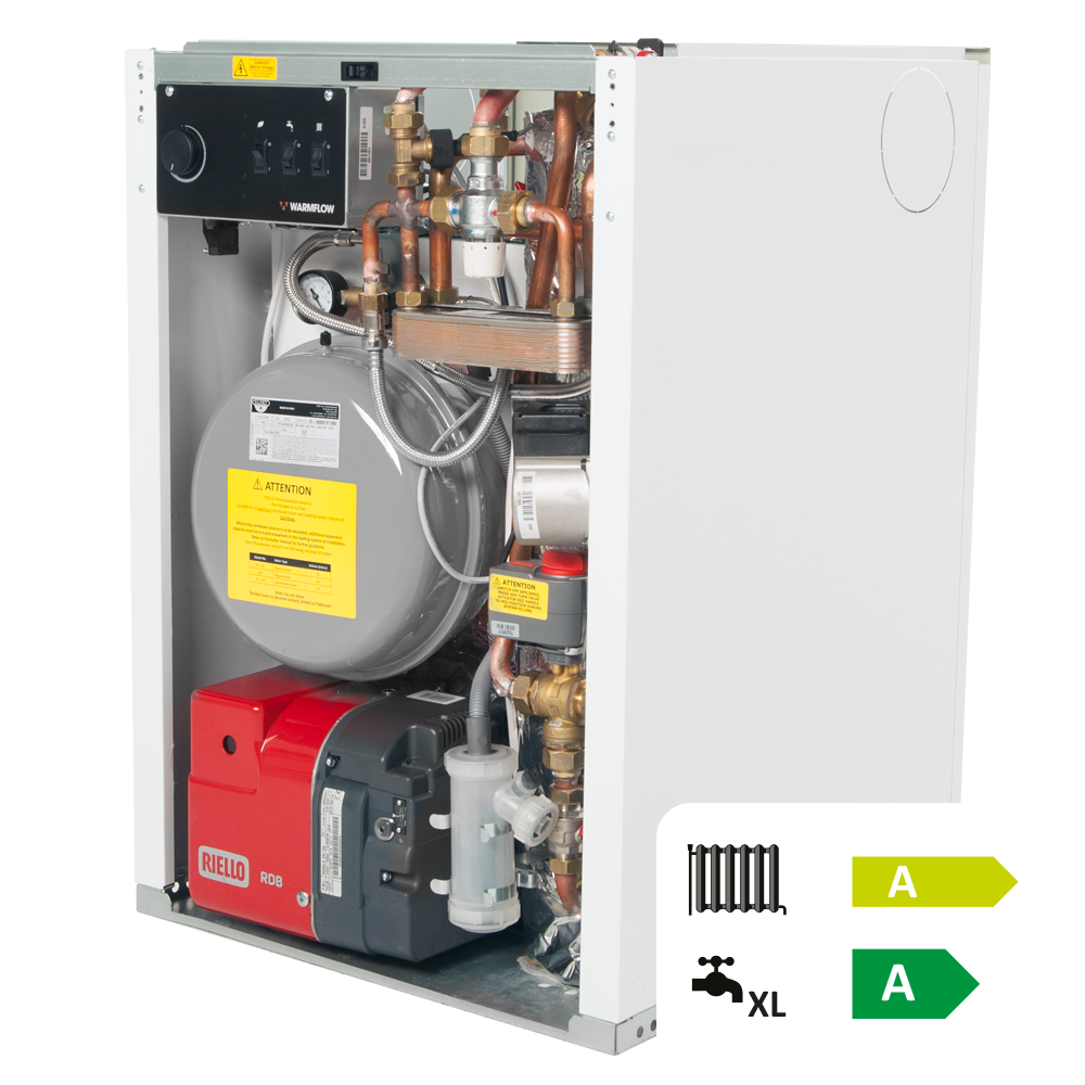 Warmflow Oil Boilers, UK, Ireland, Northern Ireland Utility HEE Combi Oil Boiler Featured